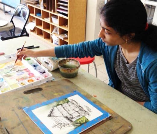 Art classes for teens