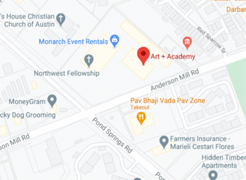 ART + Academy. NW location MAP